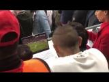 Реакция Артуро Видаля на гол Роналду в ворота