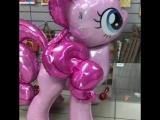 Розовая пони