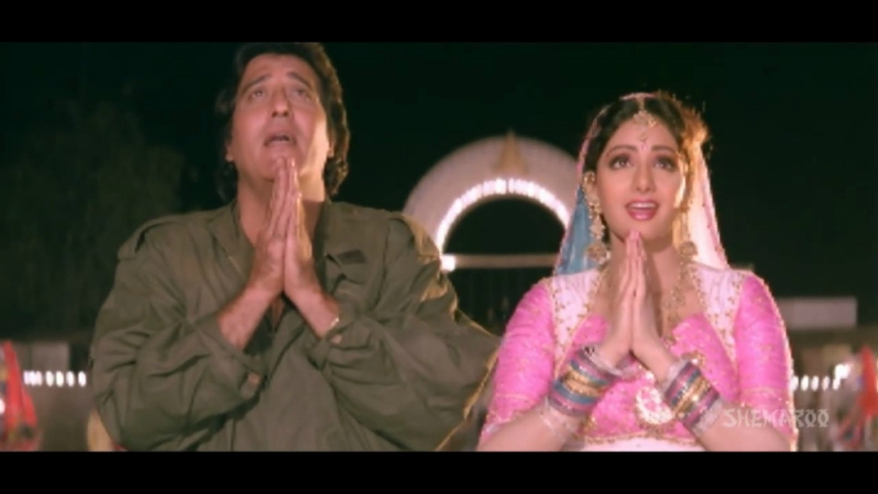 Kaali Maata - Vinod Khanna - Sridevi - Bollywood Songs - Pathar Ke Insan - Amit Kumar