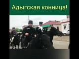 Адыгская конница! Конный переход