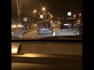 Водители Ставрополья предпочитают катать девушек в багажнике
