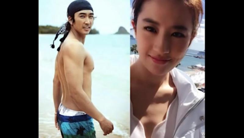 Сон Сын Хон и Лю ИФейSong Seung Heon Liu Yi Fei 宋承宪 刘亦菲 송승헌 유역비 (1)