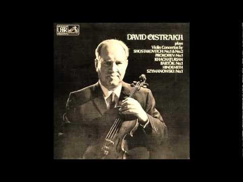 Oistrakh plays Wieniawski Legende op.17