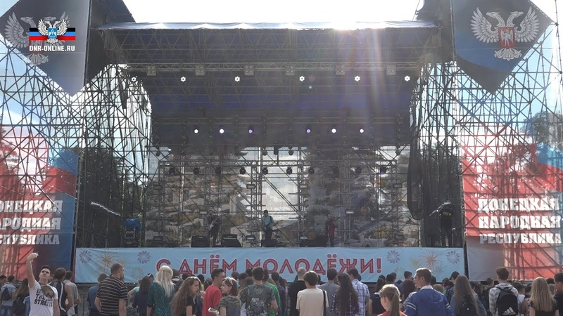 В парке им. А.С. Щербакова проходит молодежный фестиваль