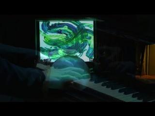 А. Н. Скрябин - Соната № 9 в исполнении Григория Комаровских (с художественным видеорядом)
