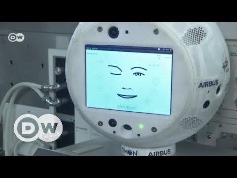 Roboter im Weltraum CIMON begleitet Alexander Gerst auf die ISS DW Deutsch
