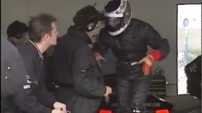 Sauber C12 testing at Estoril (feat. Michael Schumacher) Dec 1992