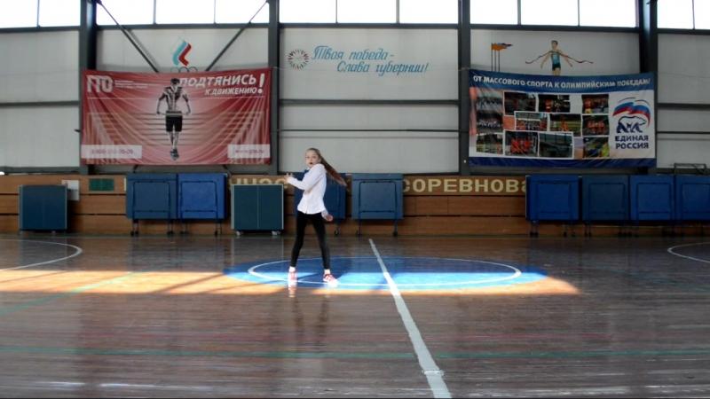 Лычева Александра - 1 место в номинации соло (03.03.18)