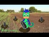 Огород Грино герой в маске мультик. Новый герой детского мультфильма.