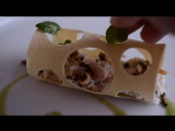 How To Make Crab Salad With Cucumber Gazpacho Puffed Wild Rice