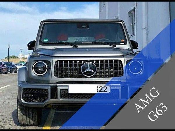 Новый Mercedes G63 AMG 2019 4.5 до 100 кмч