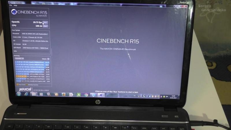[Сергей Гончаренко] Обзор и впечатления от использования ноутбука HP G6 на AMD A6. Тесты, игры