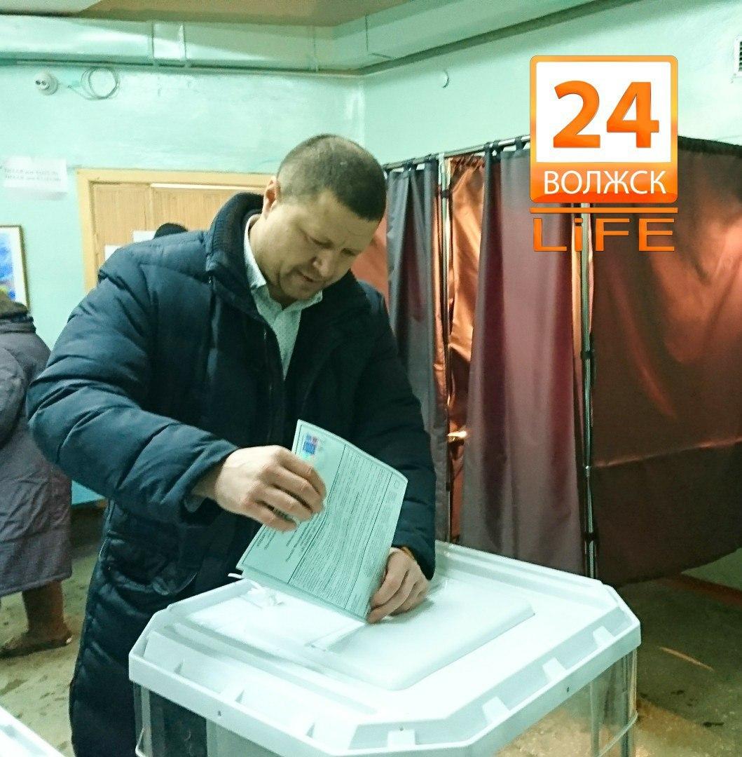 В Волжске на 10:00 проголосовало 13,4% избирателей.