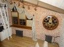 ⌛ часы, круглые жалюзи, плиссе и роскошный текстиль для классического лофта ⌛