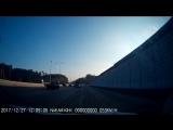 Слишком быстро ехал: появилось видео, как на Россельбане китайский автомобиль разбился об отбойник
