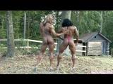 black girls posing