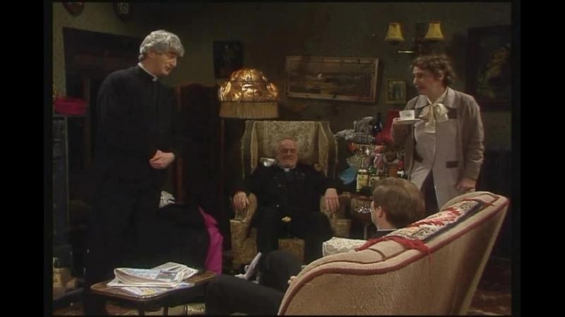 Дороги разобрали, сарказм и отец Кракен.(Отрывок из сериала Отец Тед).