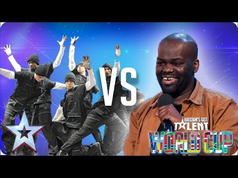 Diversity vs Daliso Chaponda | Britain's Got Talent World Cup 2018