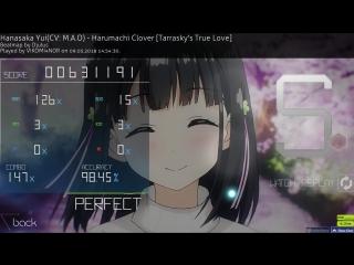 Osu! - Hanasaka Yui(CV:M.A.O) - Harumachi Clover (118pp)
