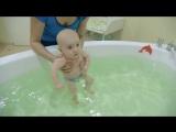 Гимнастика для детей с 4 месяцев и упражнения в ванной