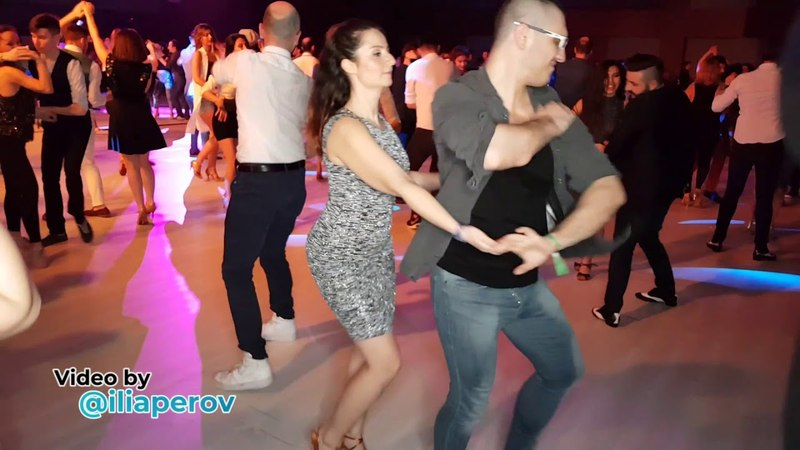 Deniz Seven and woman Social dancing at Istanbul Dance Festival, saturday 31032018