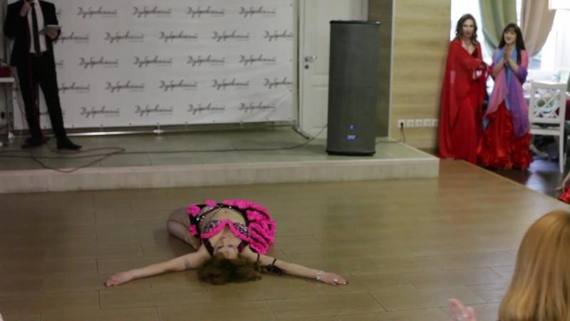 Лиана Курамшина соло табла Восточные танцы в Уфе Танцы живота Habibi Style Show Уфа