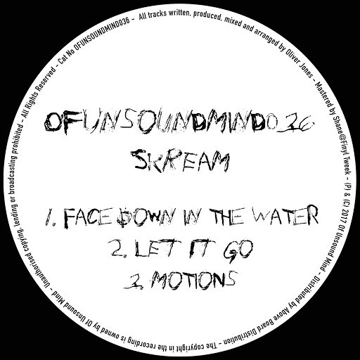 Skream альбом Face Down In The Water