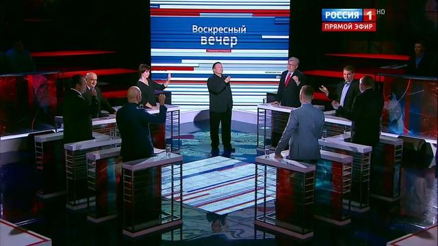 Вечер с Владимиром Соловьевым. Эфир от 16.10.2016