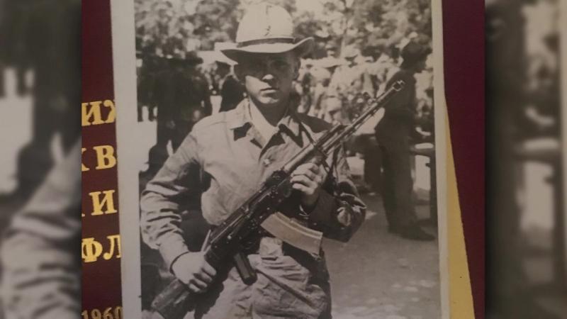 Воин богибший в Афганистане - Быстров Валерий Иванович