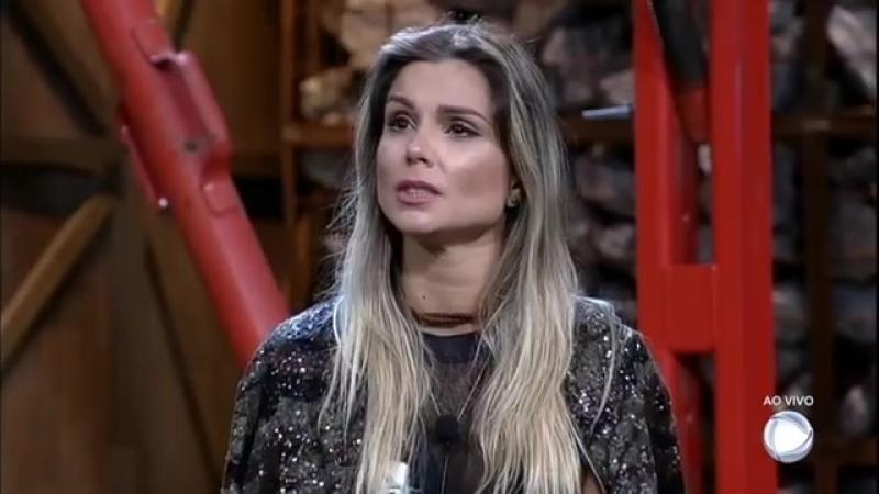 Com 58,11 dos votos, Flávia é a escolhida para continuar no reality