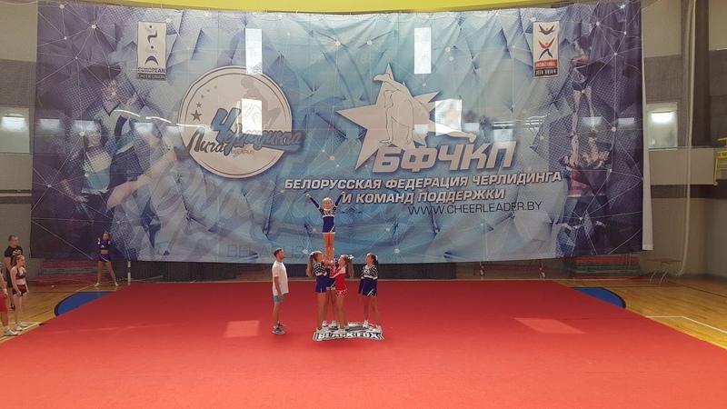 Vesca (Vesca), Пермь, Россия. Cheer Junior Group Stunt All Girls
