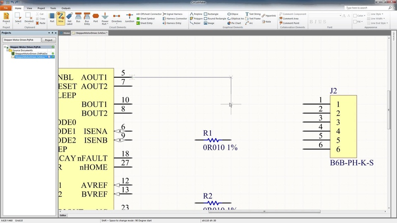 CircuitMaker Tutorial Schematic Capture