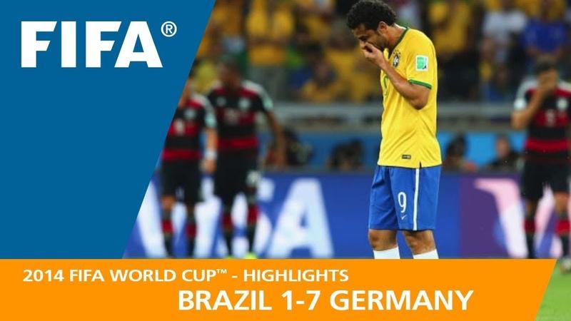 BRAZIL v GERMANY 1 7 2014 FIFA World Cup™