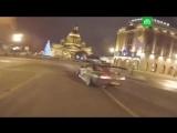 Мажоры устроили дрифт в центре Петербурга