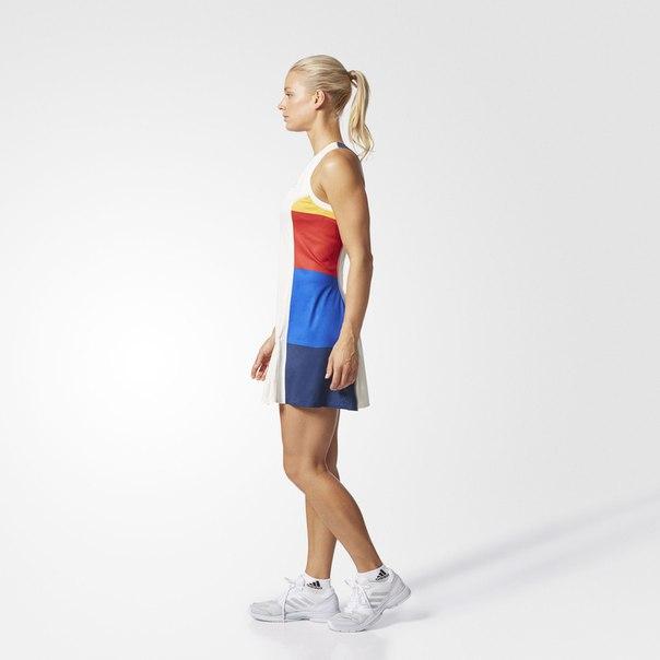 Платье для тенниса New York Colorblock