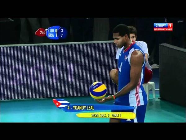 2010 FIVB Men's World Championship Final - Brazil vs Cuba clip3