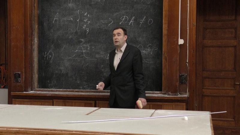 Силаев П. К. - Квантовая теория - Смешанные состояния. Матрица плотности (Лекция 4)