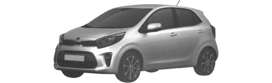 Kia запатентовала дизайн Picanto X-Line