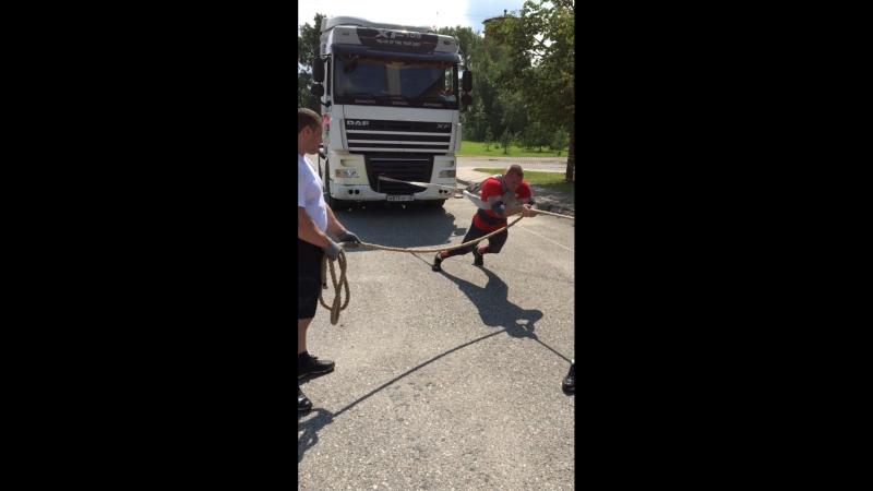 Чугунов Денис Трек-Пулл (победные 1метр30 см)