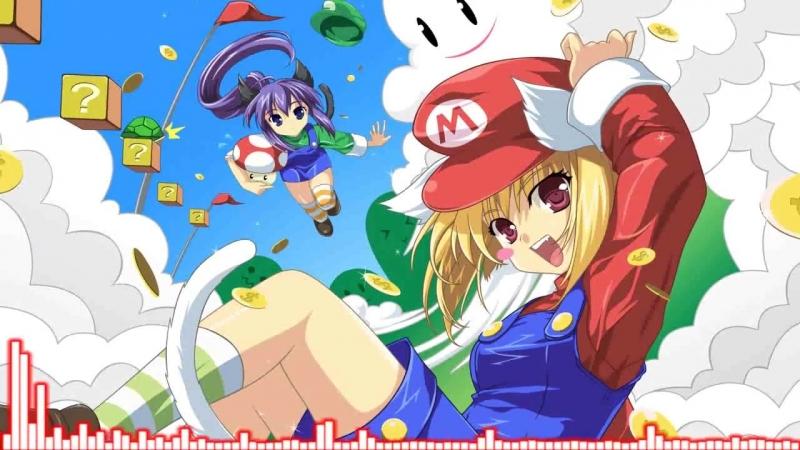 Nightcore - Jump Up, Super Star! Remix(The Living Tombstone)[Super Mario Odyssey]