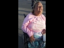 Тётка инвалид на коляске и её родня