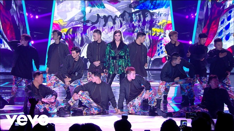 Hailee Steinfeld, Grey - Starving (Live at Indonesian Choice Awards 2018 NET 5.0)
