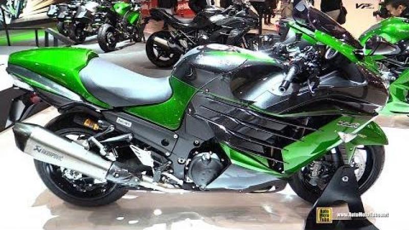 2018 Kawasaki ZZR 1400 - Walkaround - 2017 EICMA Milan Motorcycle Exhibition