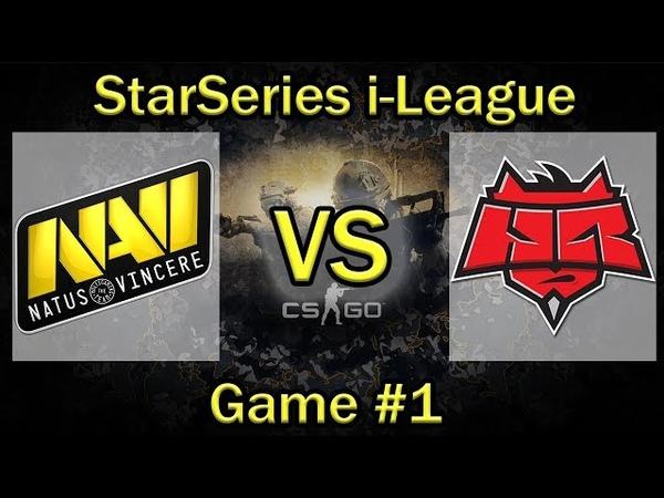 ПЛОТНЫЙ КС от НАВИ и Хеллрейзерс NaVi vs RU SL i League Season 4