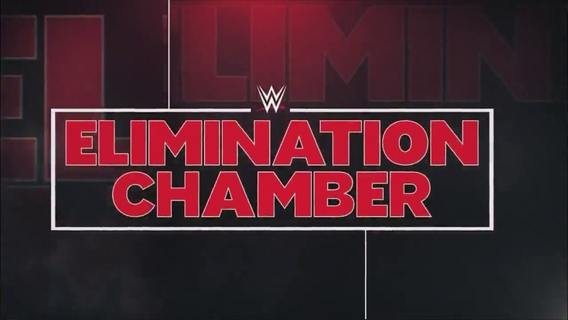 RAW WWE Elimination Chamber 2018 - Intro
