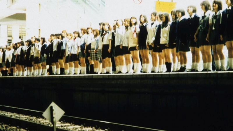 «Клуб самоубийц» (2001) - ужасы, триллер, драма, криминал. Сион Соно