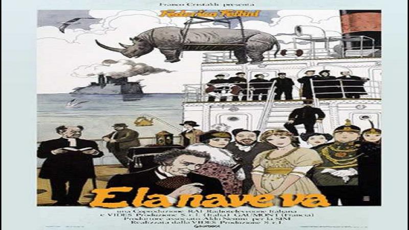 Federico Fellini - E La Nave Va 1983 Freddie Jones Barbara Jefford Elisa Mainardi Victor Poletti Peter Cellier