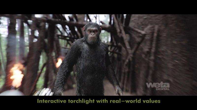 «Планета обезьян: Война» (War for the Planet of the Apes) - VFX Breakdown (WETA)