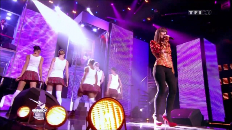 Alizee_Moi Lolita (Live on Generation 90)
