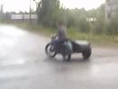 Мотоцикл урал рулит такова вы не видели